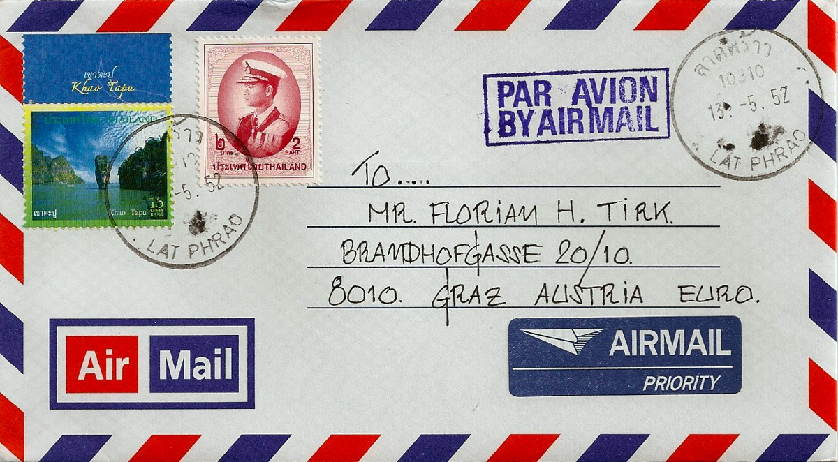 airmail worldwide covers